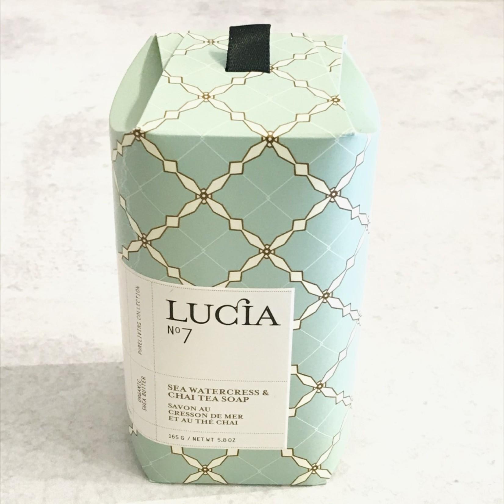 Lucia Sea Watercress & Chai Tea Soap