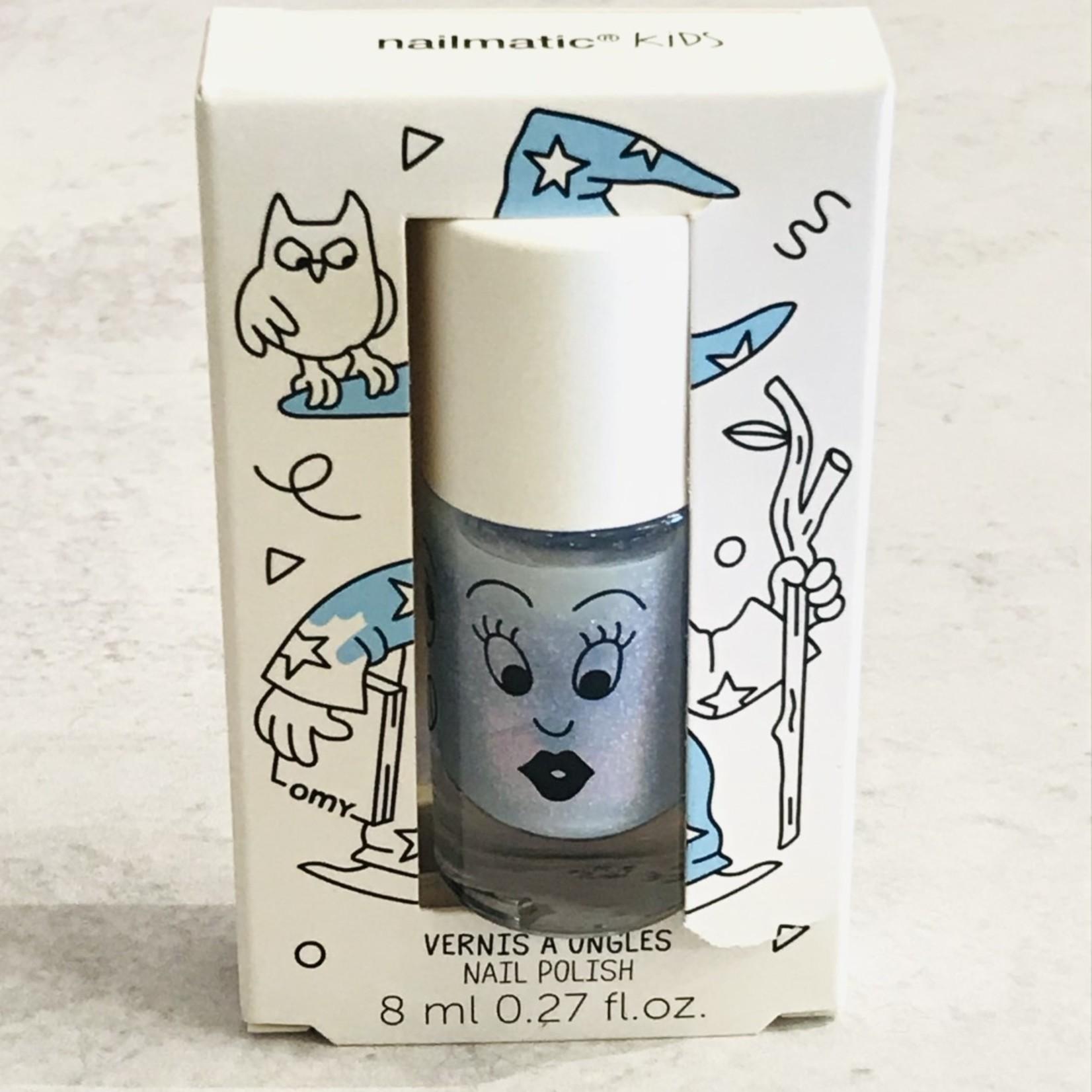 Nailmatic Nailmatic Merlin Pearly Blue Nail Polish
