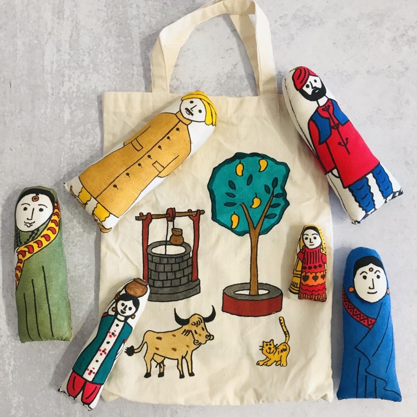 Market Stuffed Toys-Trip To The Village