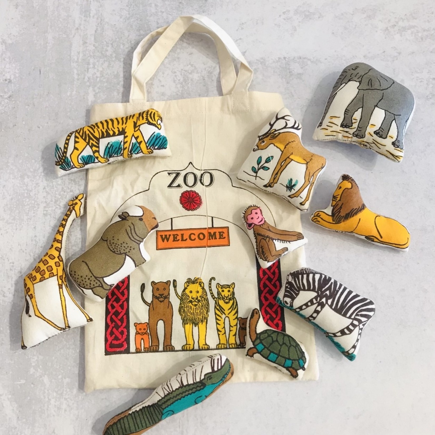Market Stuffed Toys-Trip To The Zoo