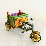Market Wooden Toy Bicycle Rickshaw