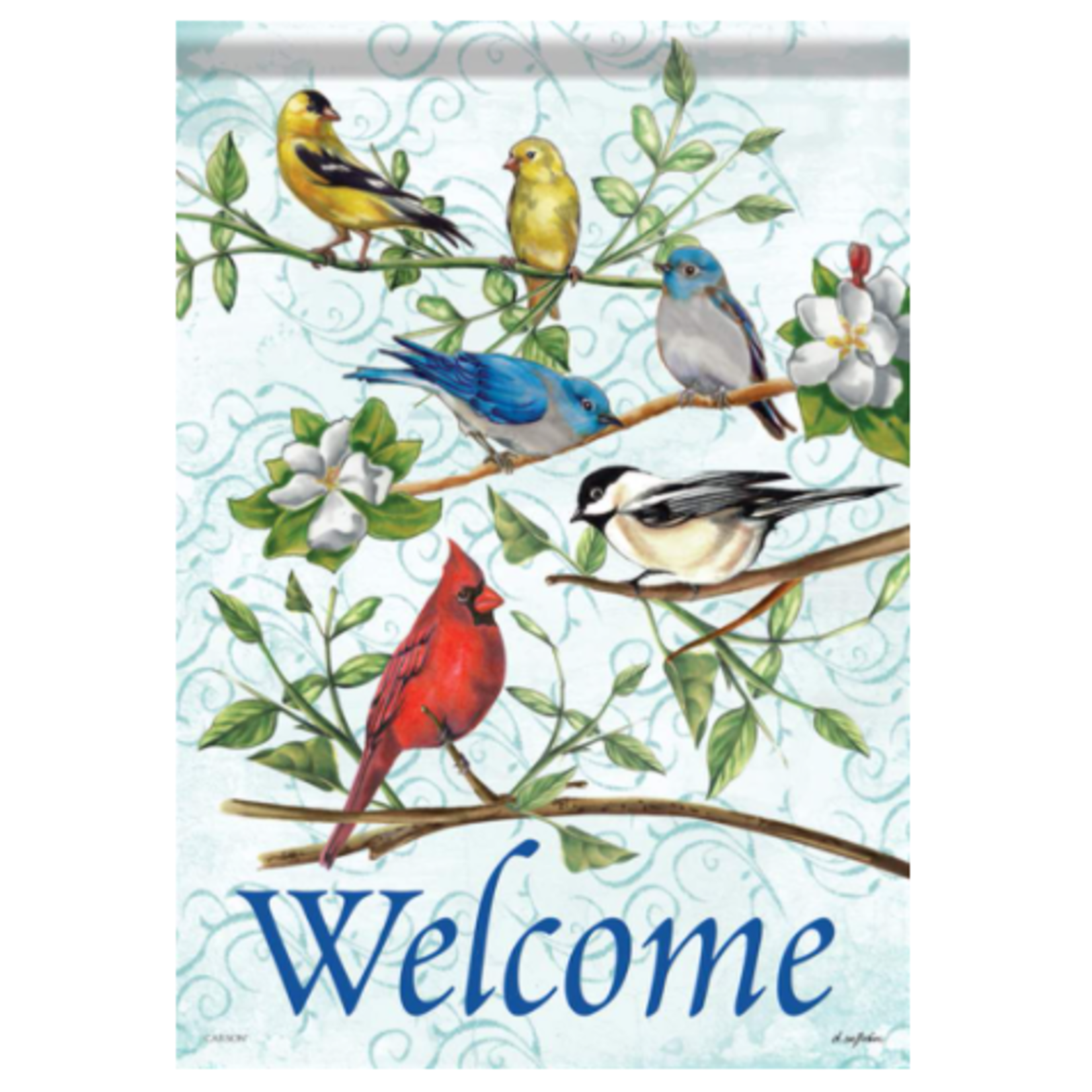 Garden Flag - Songbird Greetings