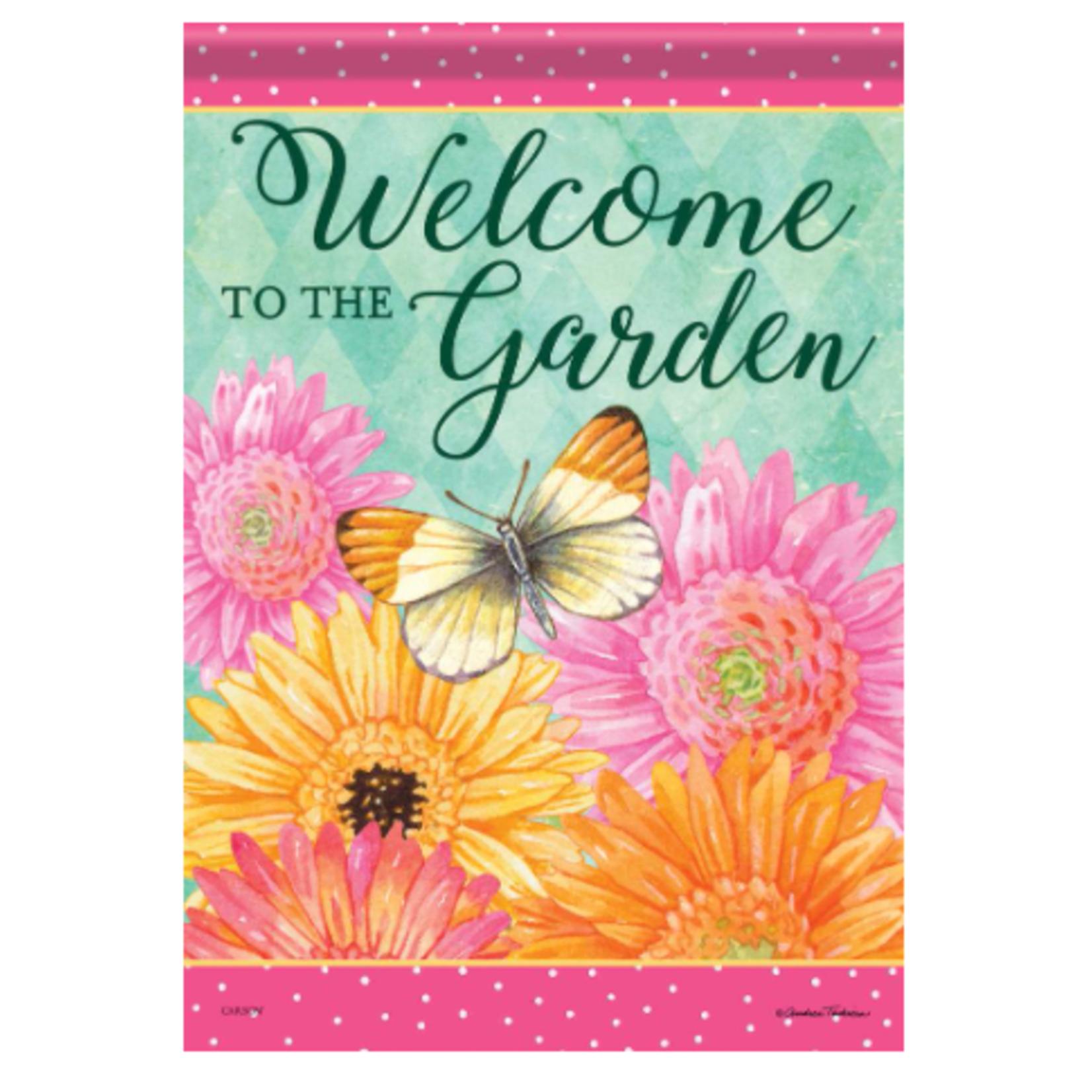 Garden Flag - Spring Daisies