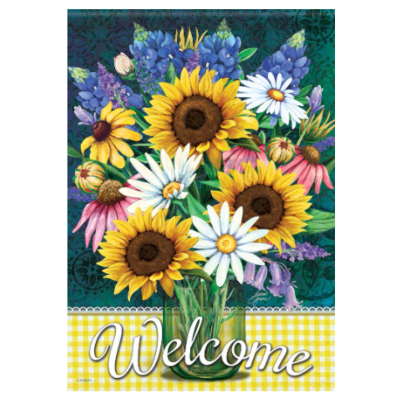 Garden Flag - Sunflower Bouquet