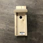 Handmade Chickadee Nest Box