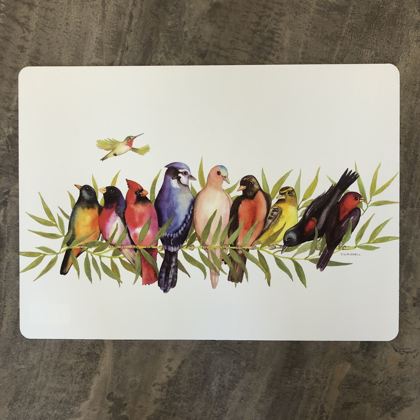 Placemat - Birds on a Branch