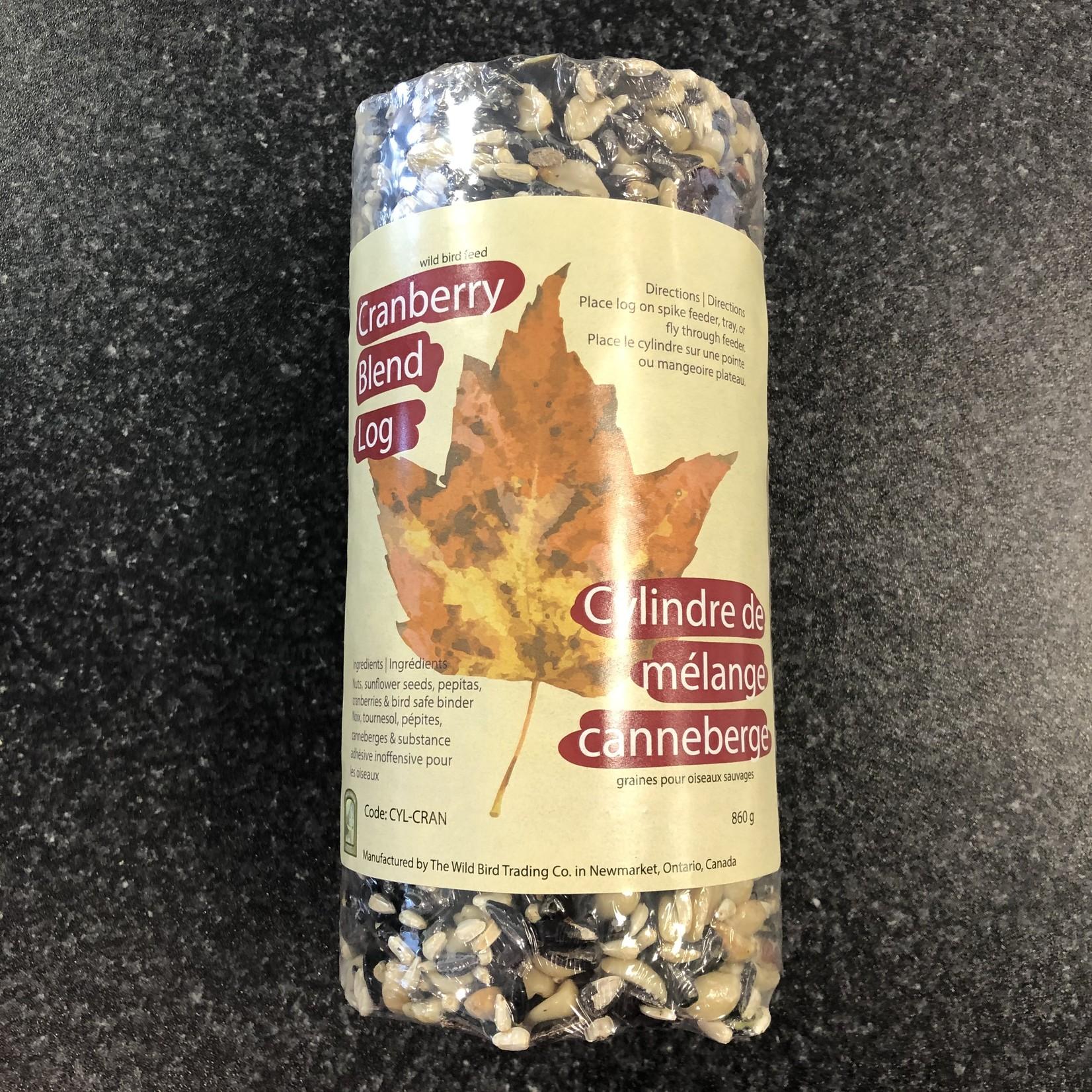 Seed Log - Cranberry