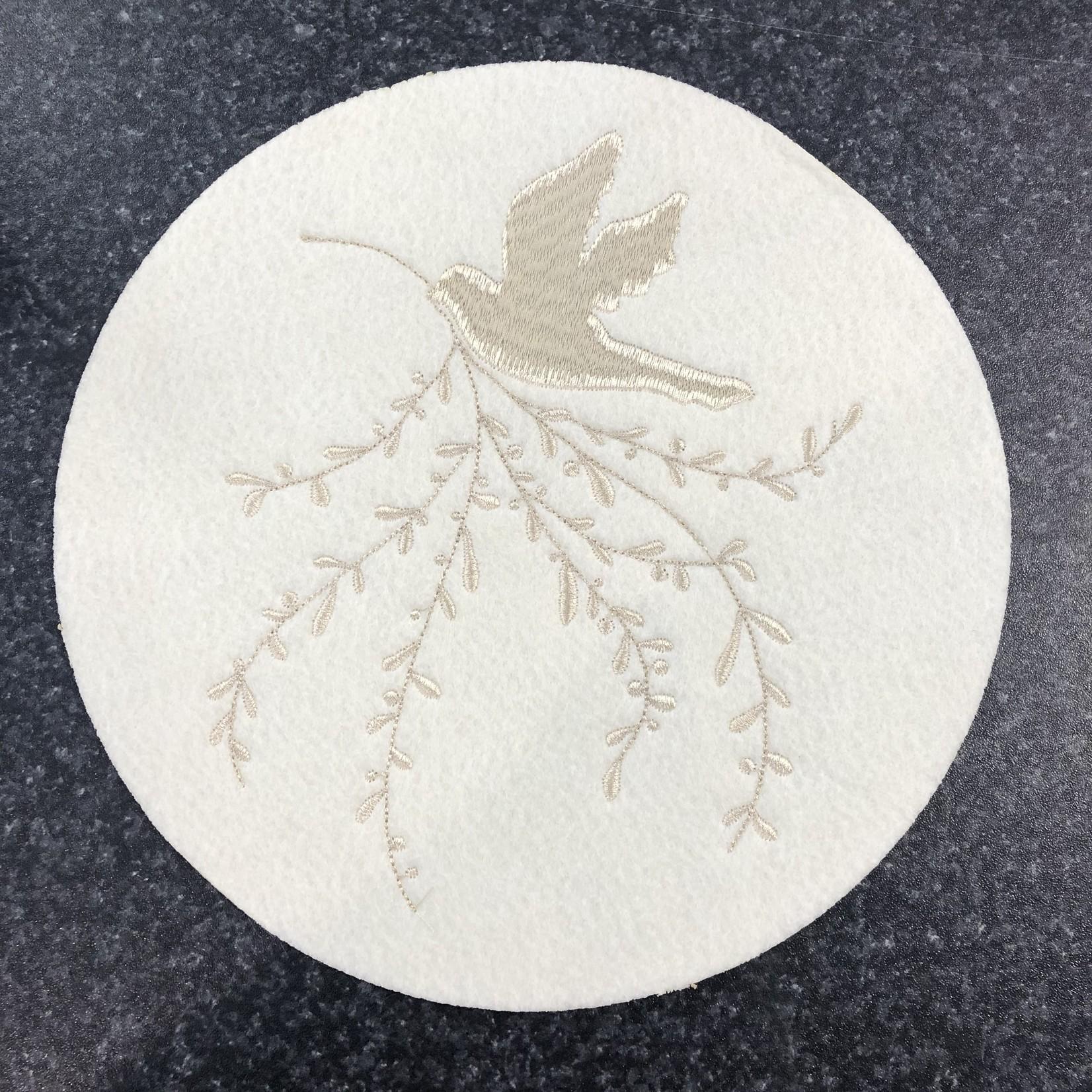 Ivory Bird Trivet