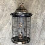 Designer Copper Cage Seed Feeder