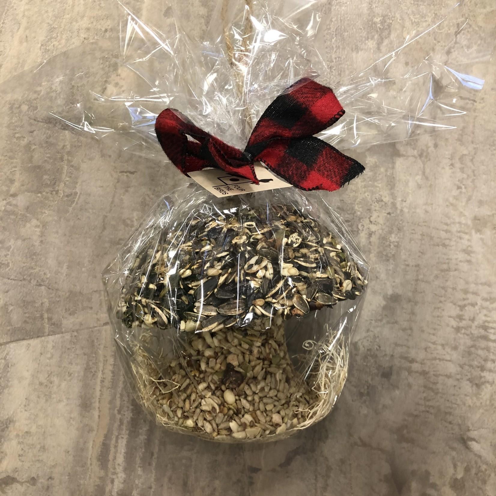 Toadstool Mushroom Seed Ornament