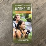Folding Pocket Guide: Birding 101
