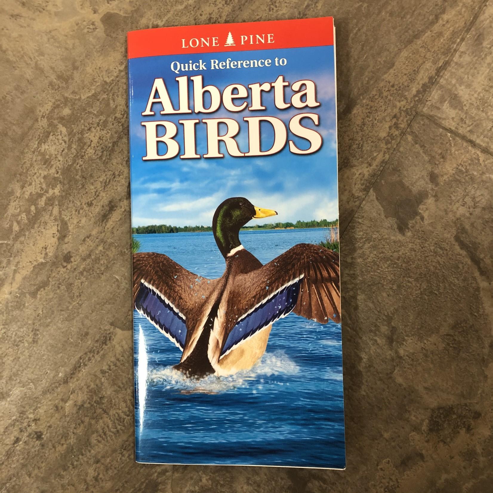 Folding Pocket Guide: Alberta Birds (Lone Pine)