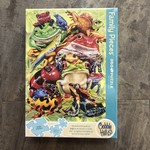 Cobble Hill Puzzles Frog Pile - Family Puzzle