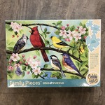 Cobble Hill Puzzles Bloomin' Birds - Family Puzzle