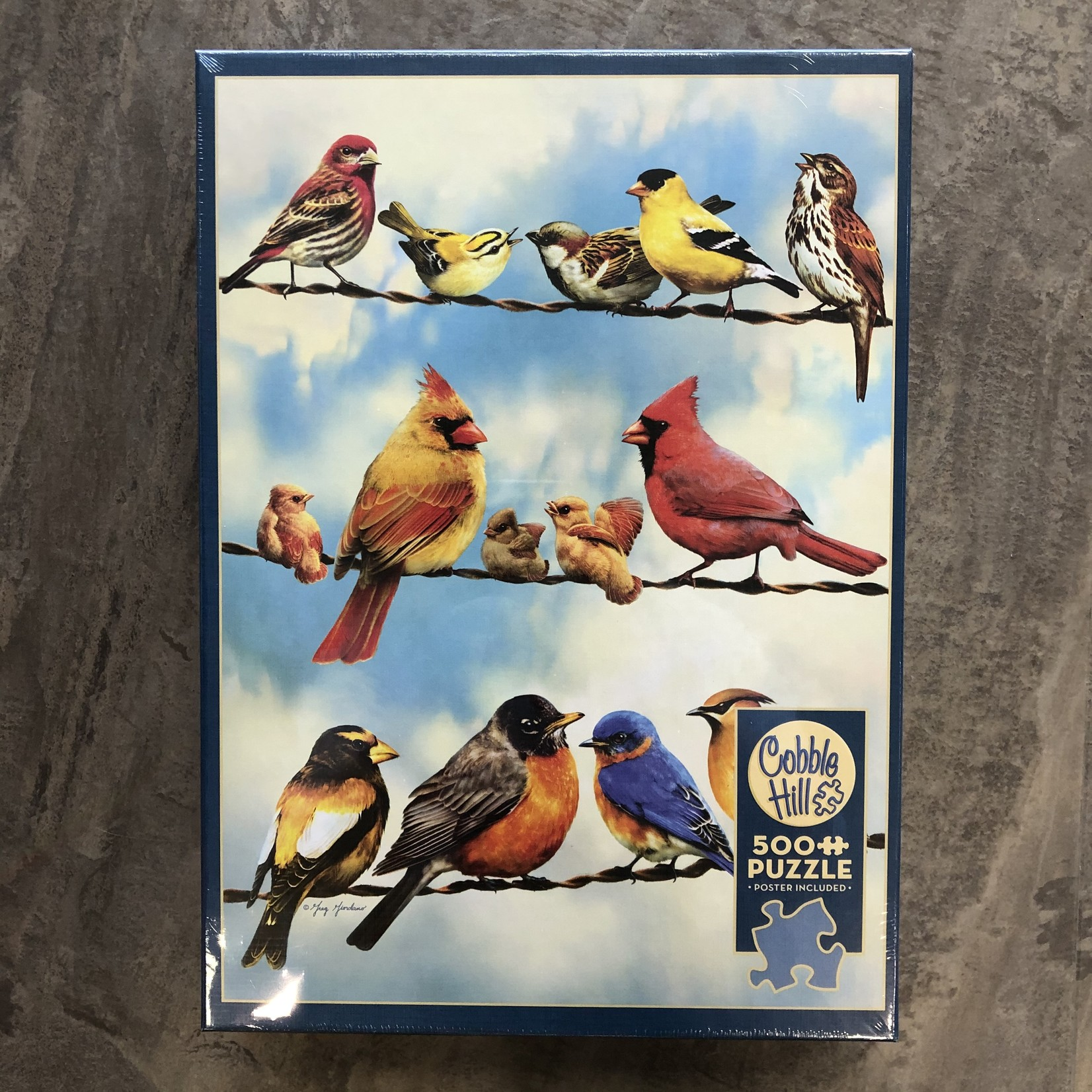 Cobble Hill Puzzles Birds on a Wire - 500 pc Puzzle