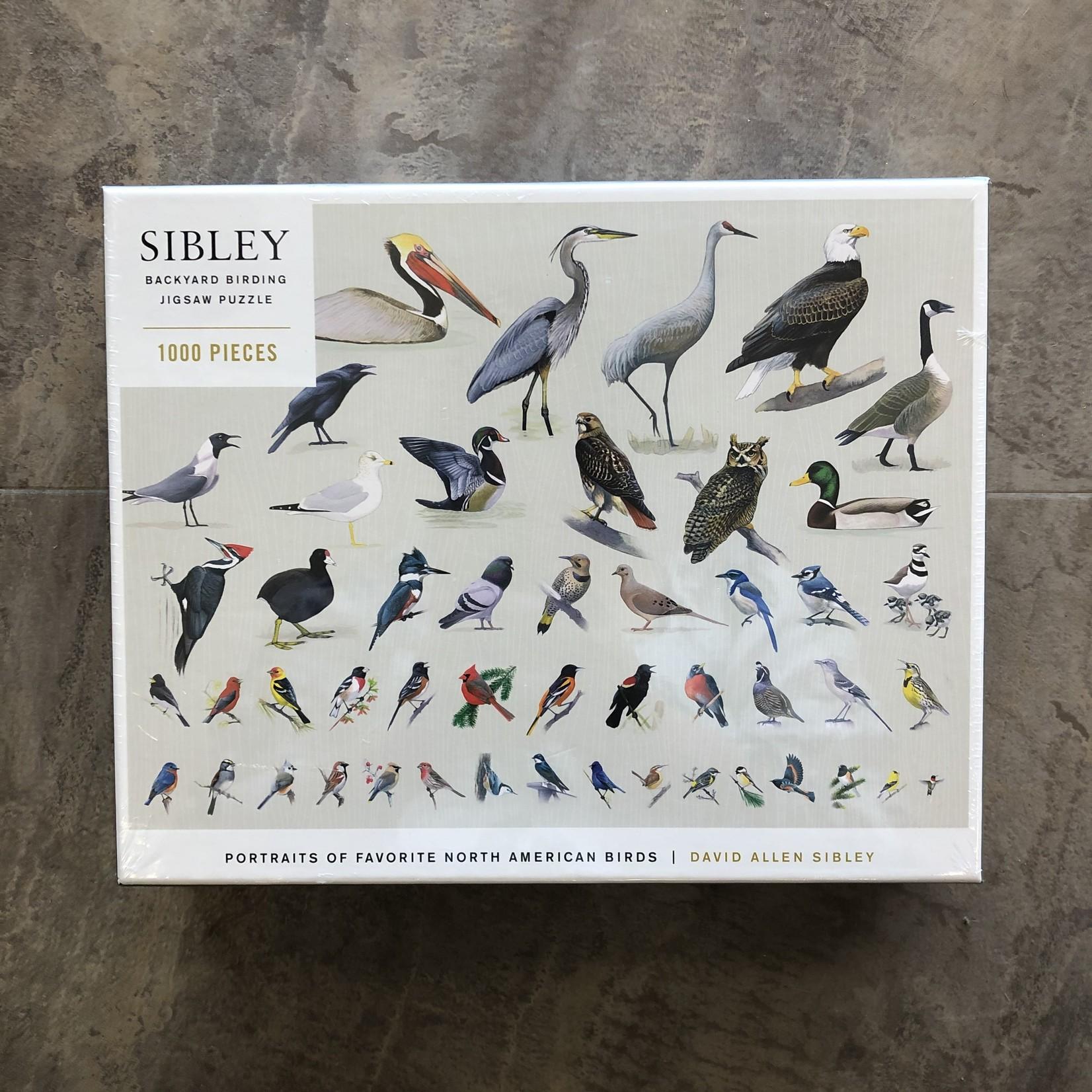 Sibley Backyard Birding Jigsaw Puzzle