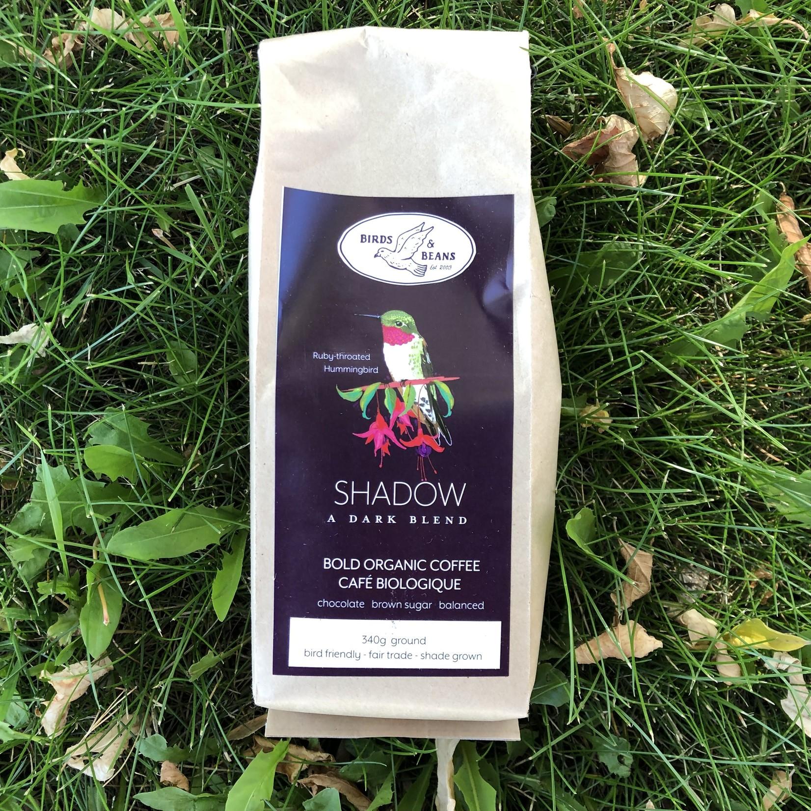 Shadow Hummingbird Dark Coffee - 12 oz
