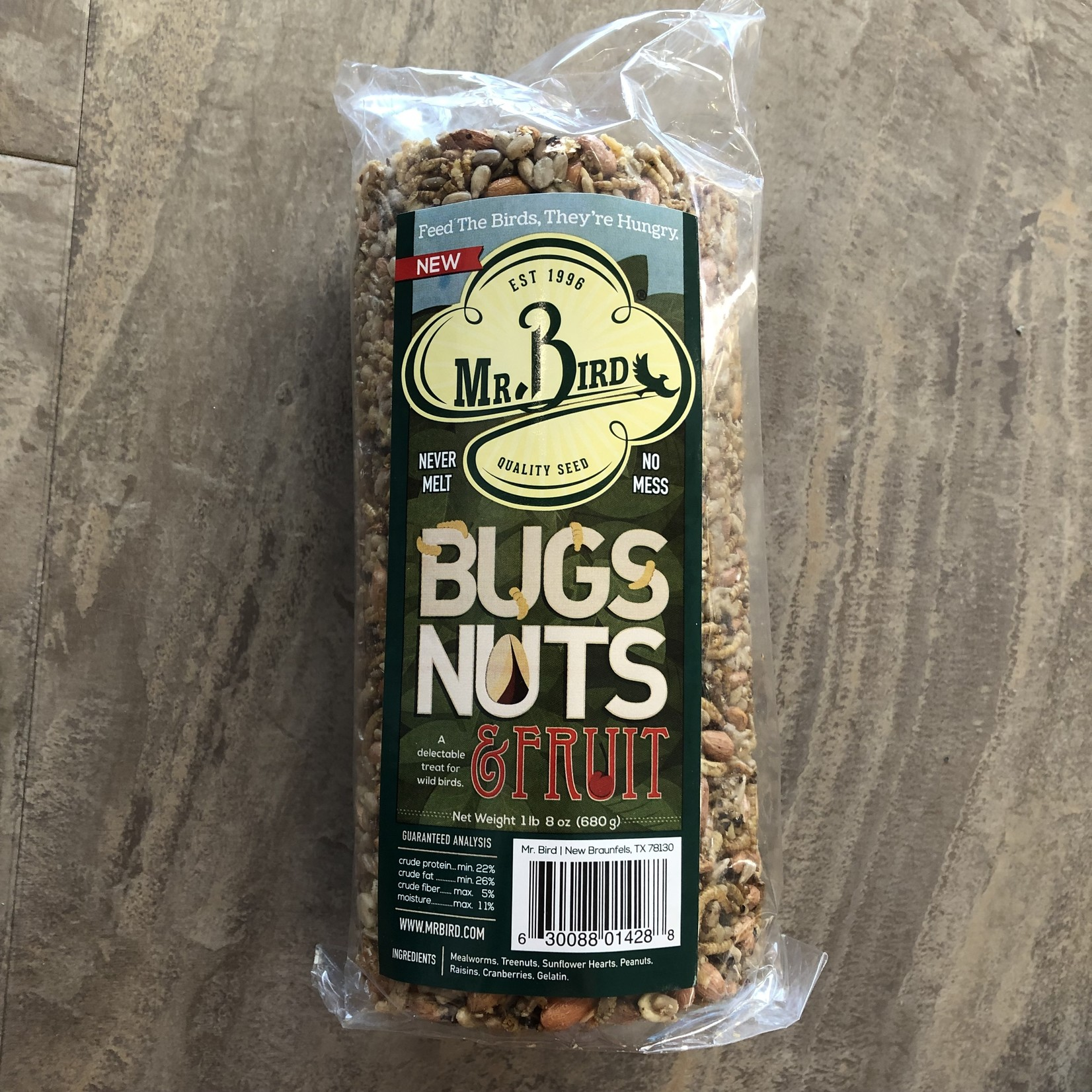 Bugs, Nuts & Fruit Cylinder - Small