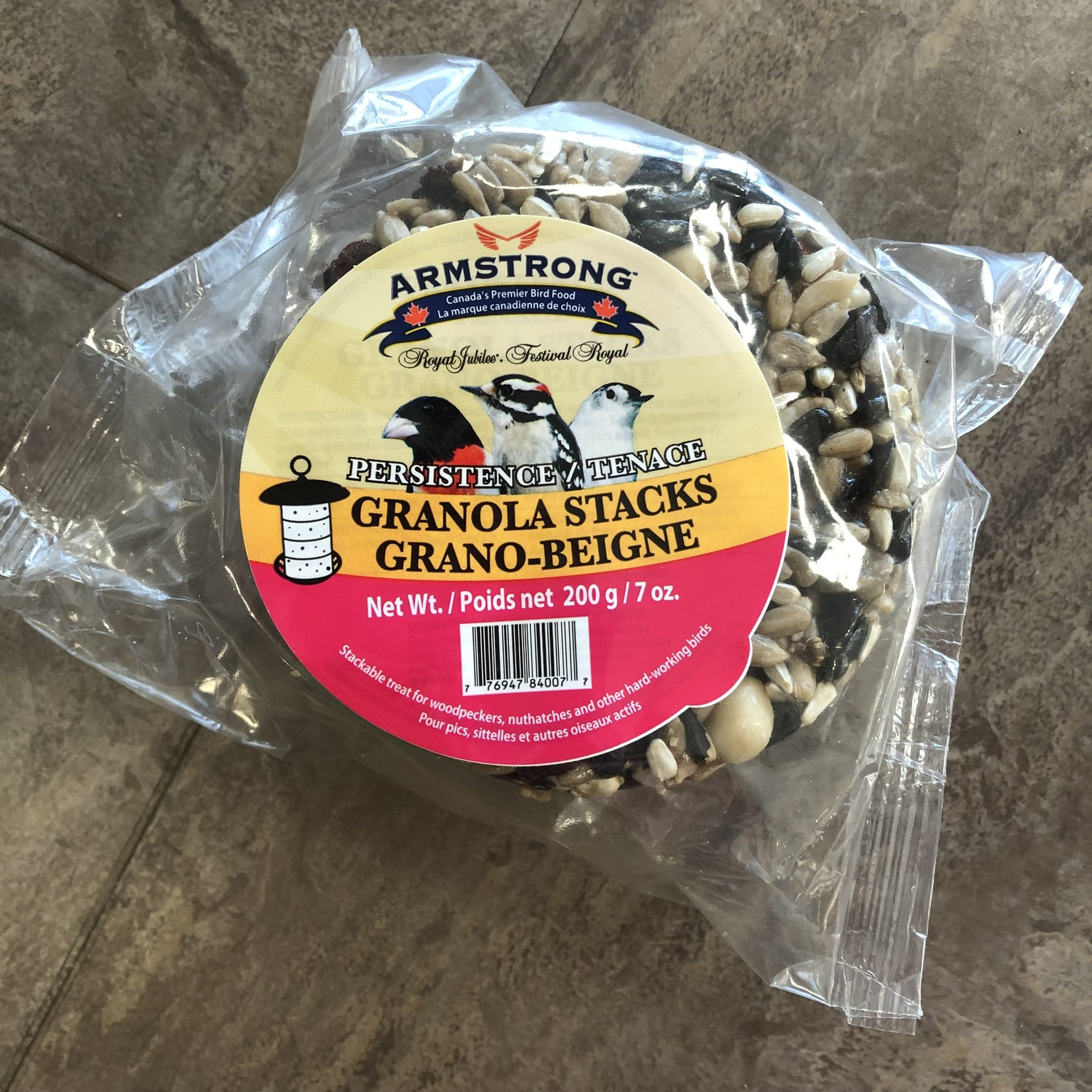 Persistence Granola Stacks