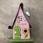 Pink Funky Birdhouse