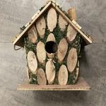 Moss Edged Bird House