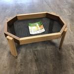 Wood Octagon Ground Feeder