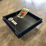 Blue Recycled Plastic Tray Feeder