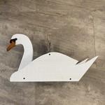 Swan Shaped Platform Feeder