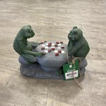 Angelo Concrete Work Ltd Garden Ornament - Frogs Playing Checkers