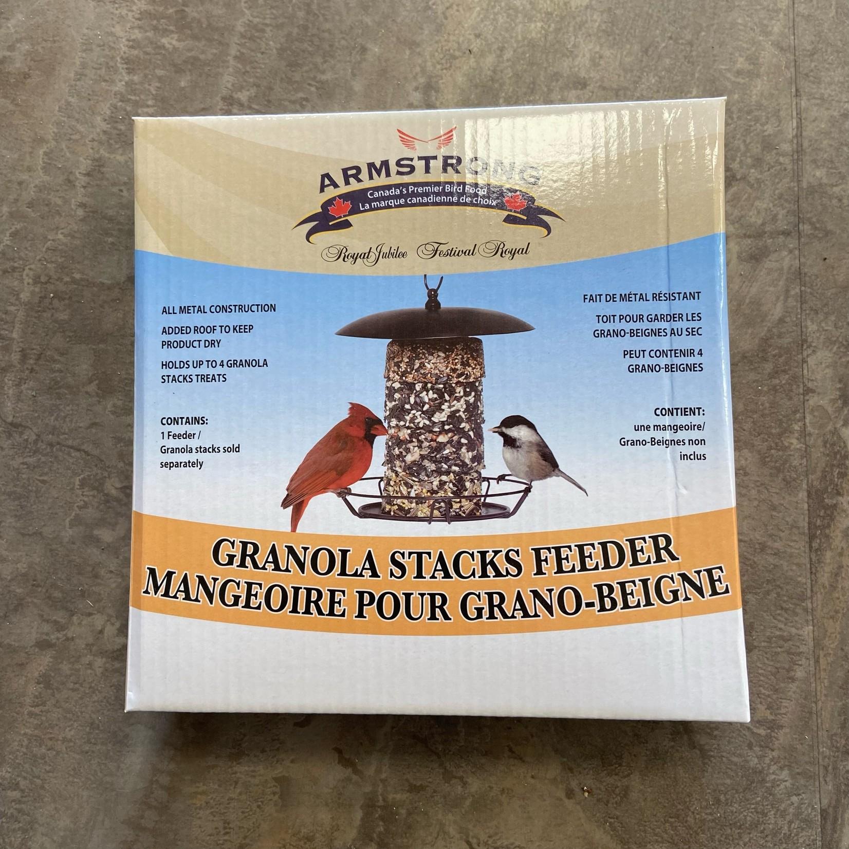 Granola Stacks Cylinder Feeder