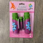 Kids Plastic Binoculars - Pink Floral