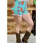 Southern Stitch Aztec Shorts