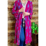 Southern Stitch Cactus Duster