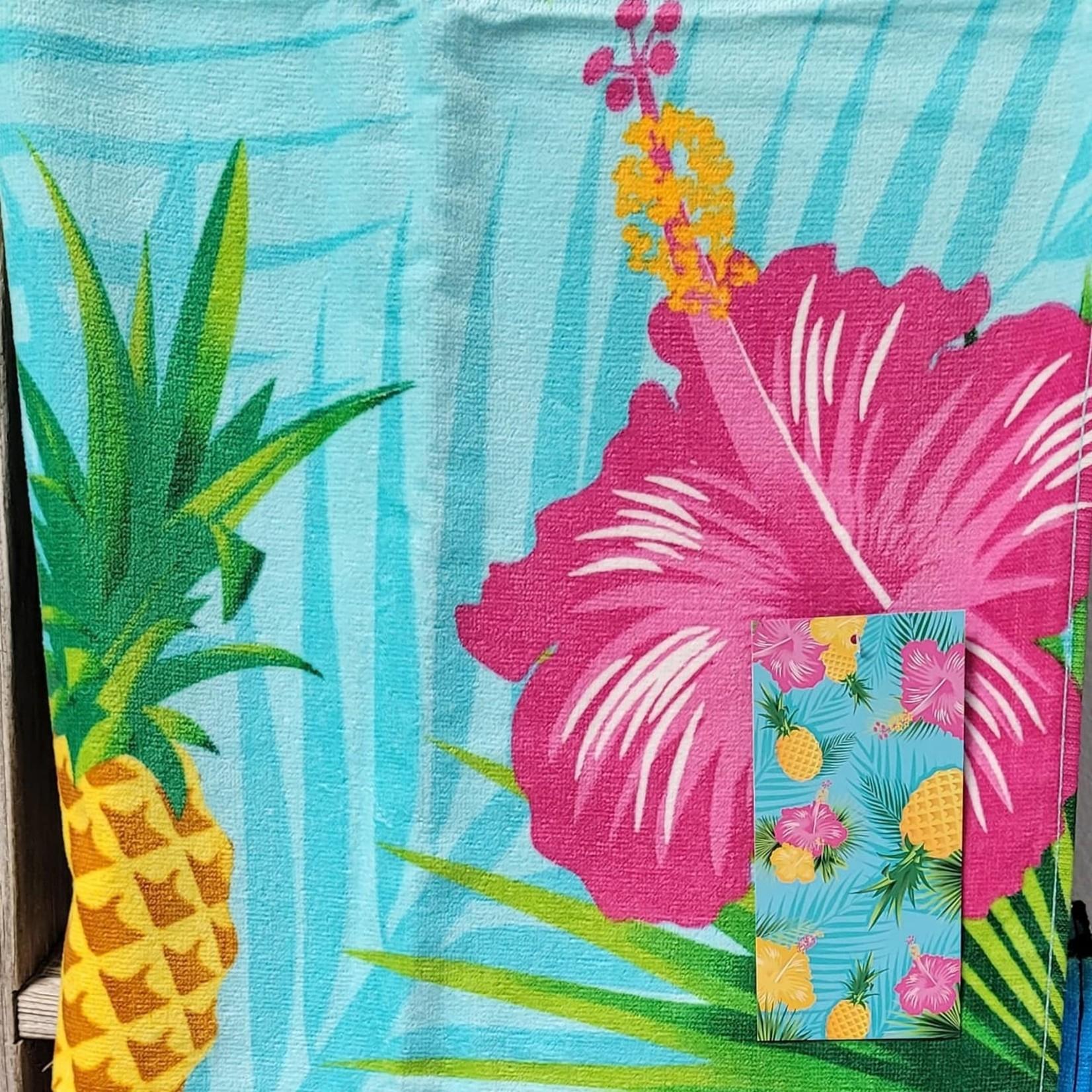 Pineapple Flower Towel