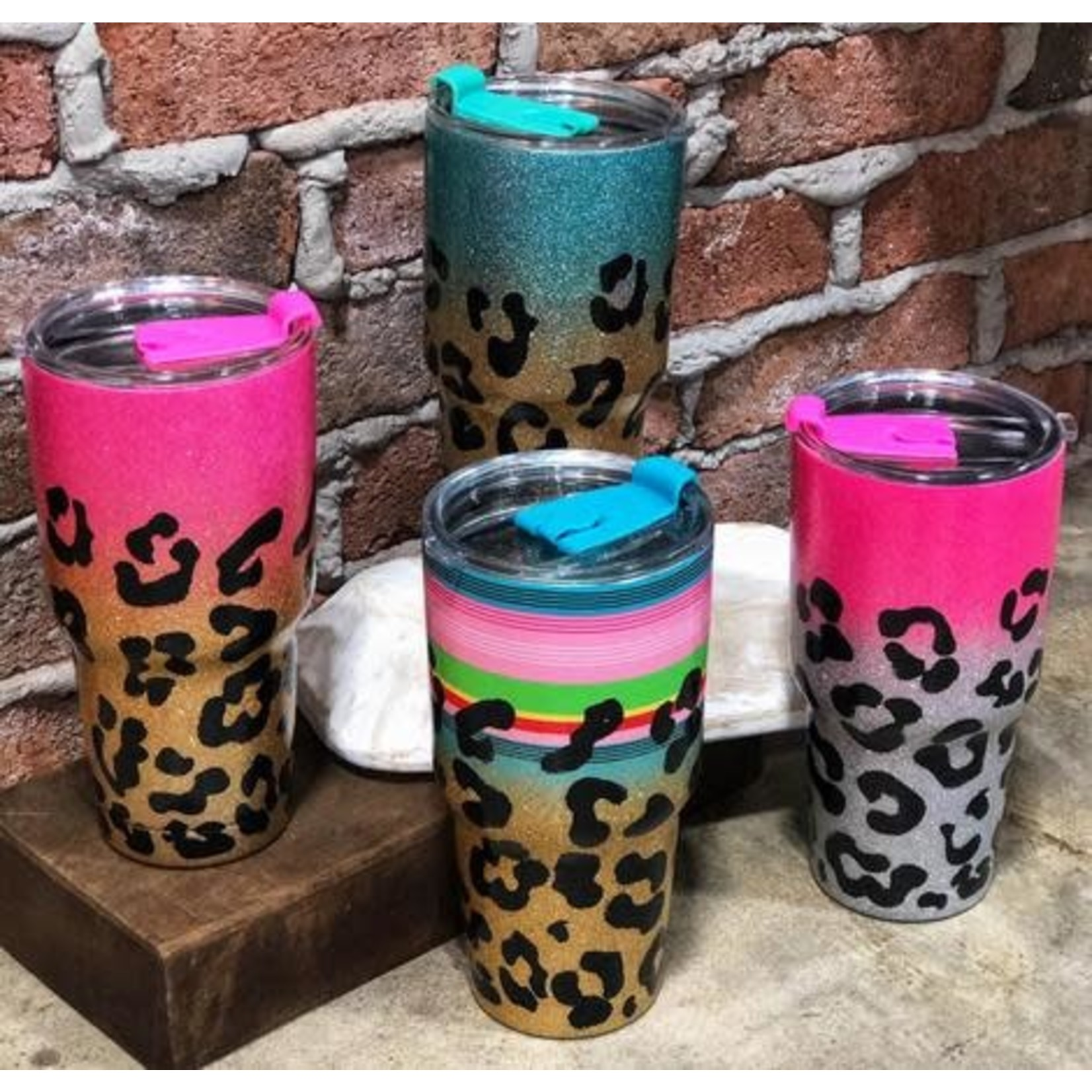 Pink/Gold 32 oz Cup