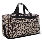 """Feline Frenzy 23"""" duffle bag"""