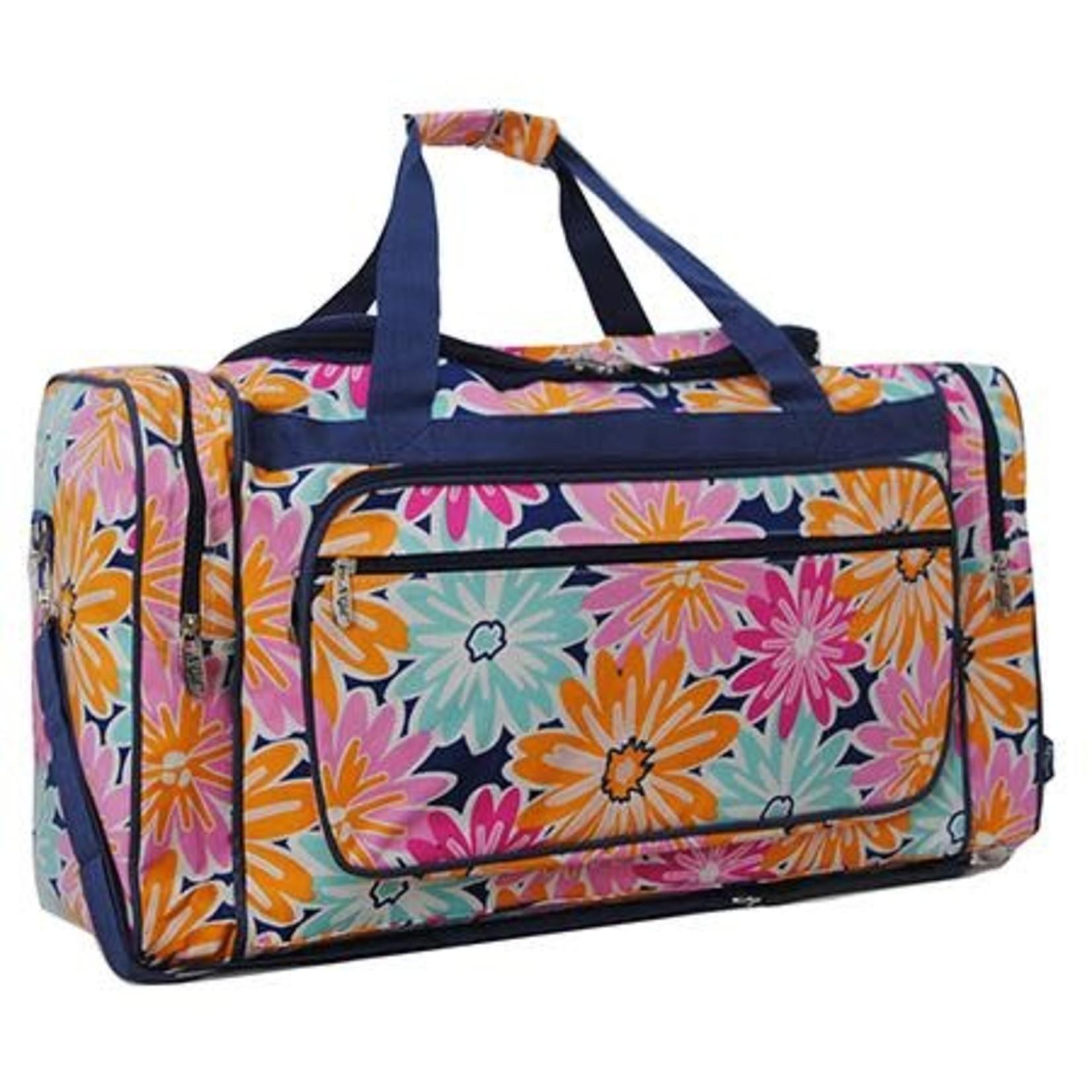 "Flower power 23"" duffle bag"