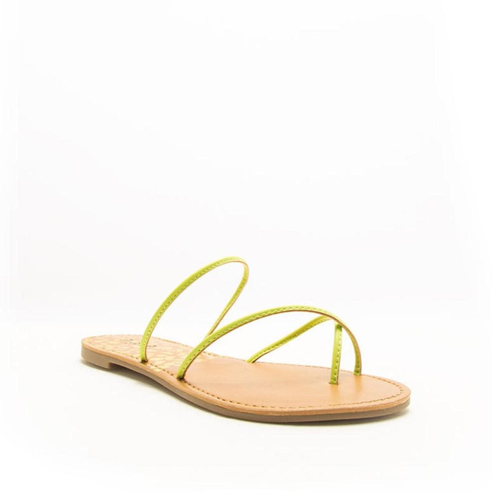Neon Yellow Sandal