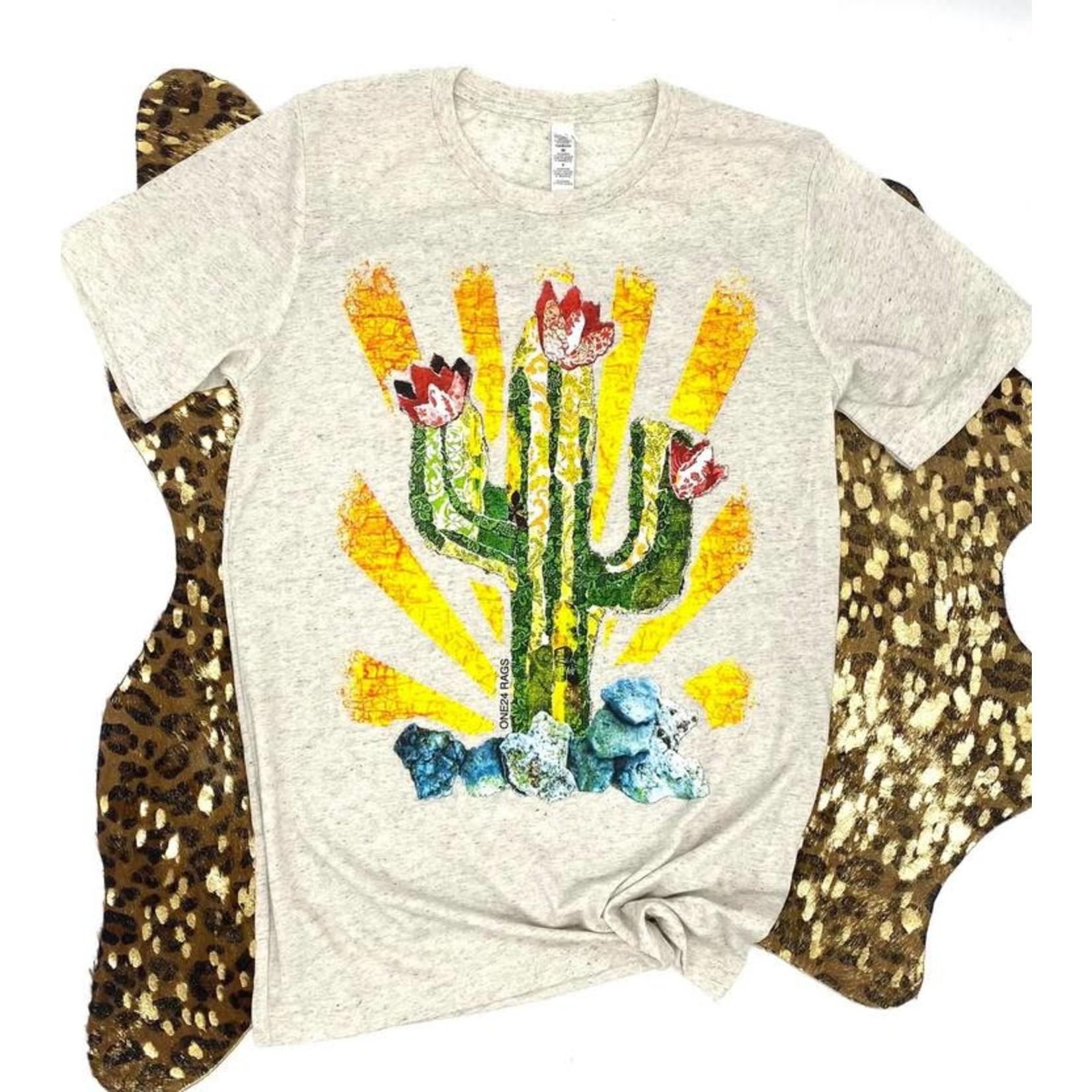 Paper Mache Cactus Tee