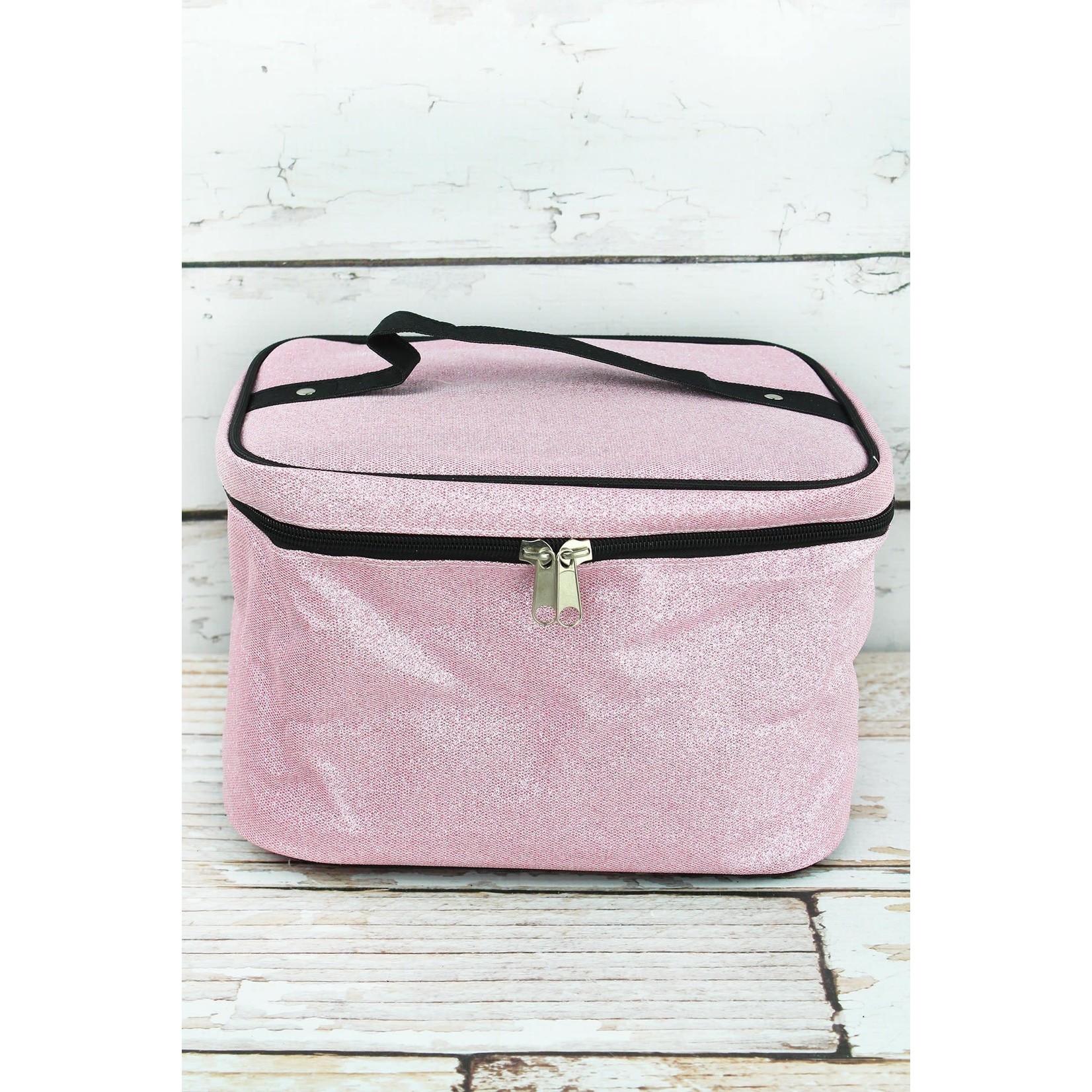 Pink Glitz & Glam Train Case