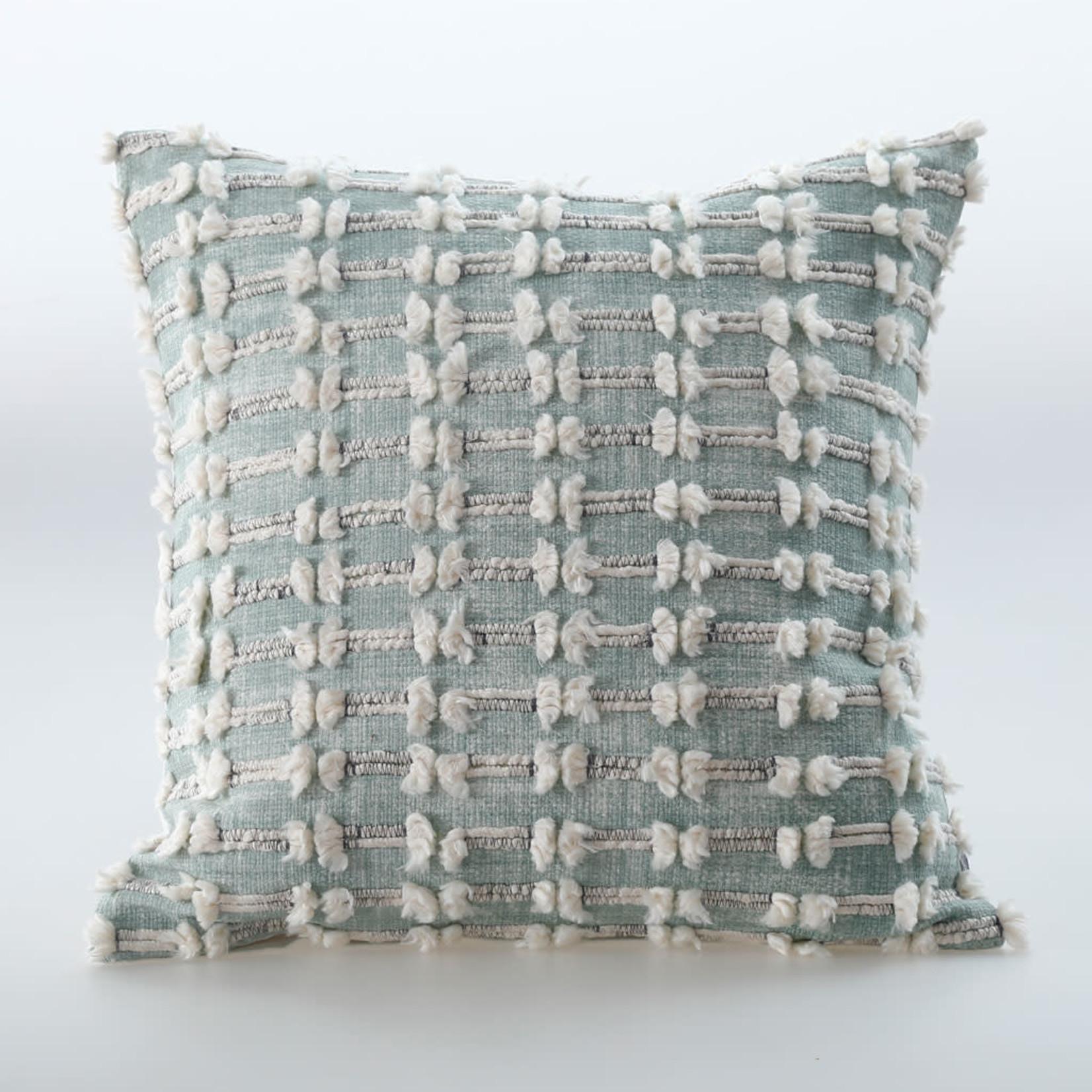 MM Linens SINTRA Cushion Green (50cm)