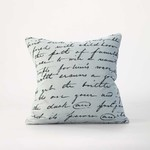 MM Linens Love Poem Cushion