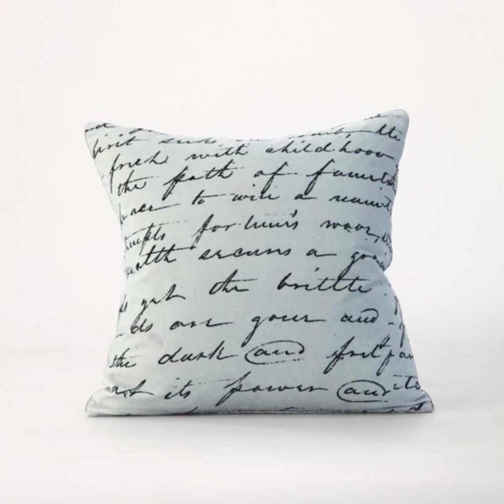 MM Linens Love Poem Cushion (45cm)