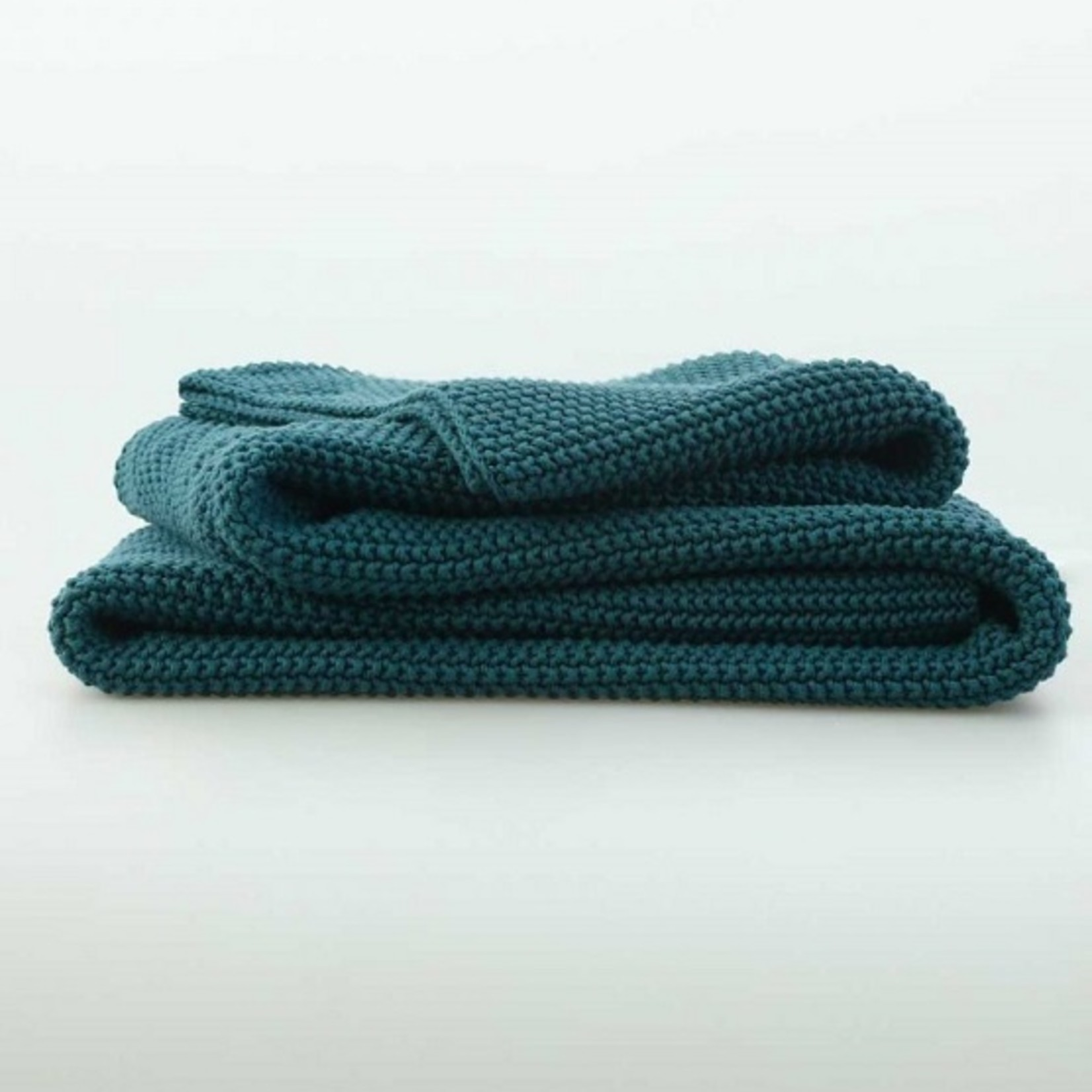 MM Linens BRONTE Throw Teal