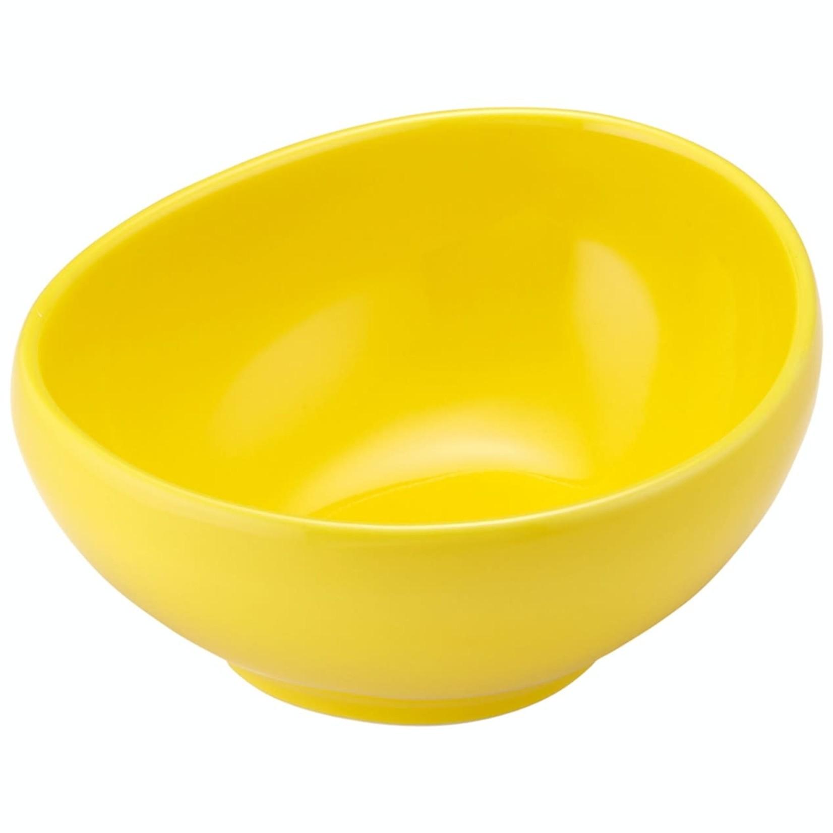 Ladelle Mi Casa White Lemon Bowl