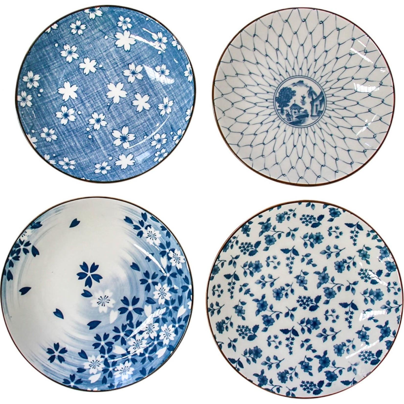 LaVida Jappa Plate Design S/4