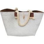 LaVida Market Bag Woven White