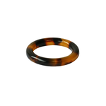 CC Interiors SET of 4 TORTOISE SHELL STYLE RING