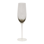 CC Interiors Set of 8 Smoked Champagne Glasses