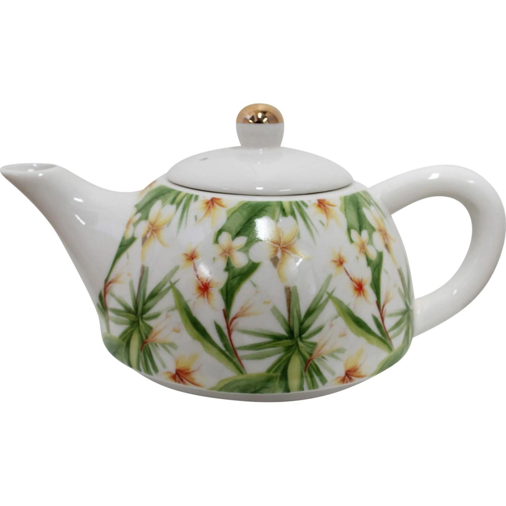 LaVida Teapot Frangipani